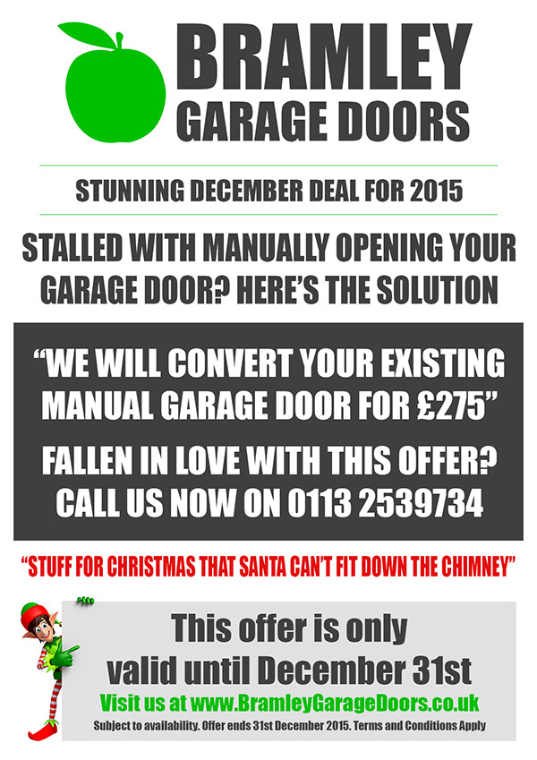 Bramley Garage Doors Electric Garage Door Offers December 2015