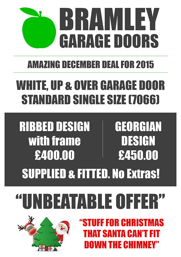 Bramley Garage Doors Christmas 2015 offer